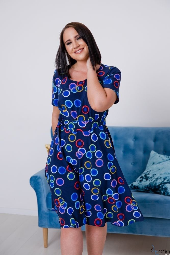 Sukienka ROSITA Plus Size Wzór 20