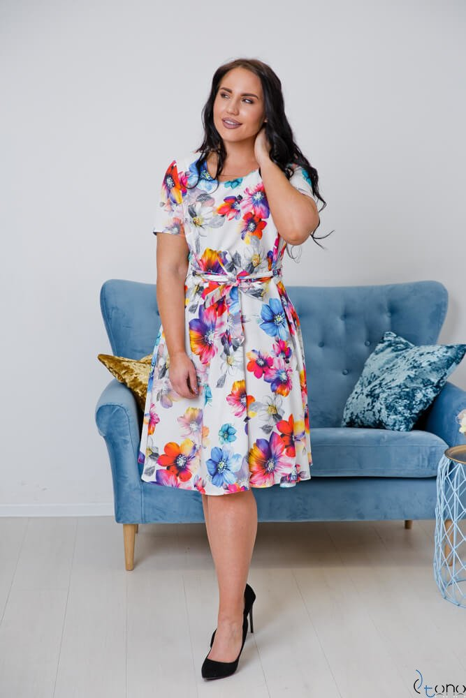 Sukienka ROSITA Plus Size Wzór 4