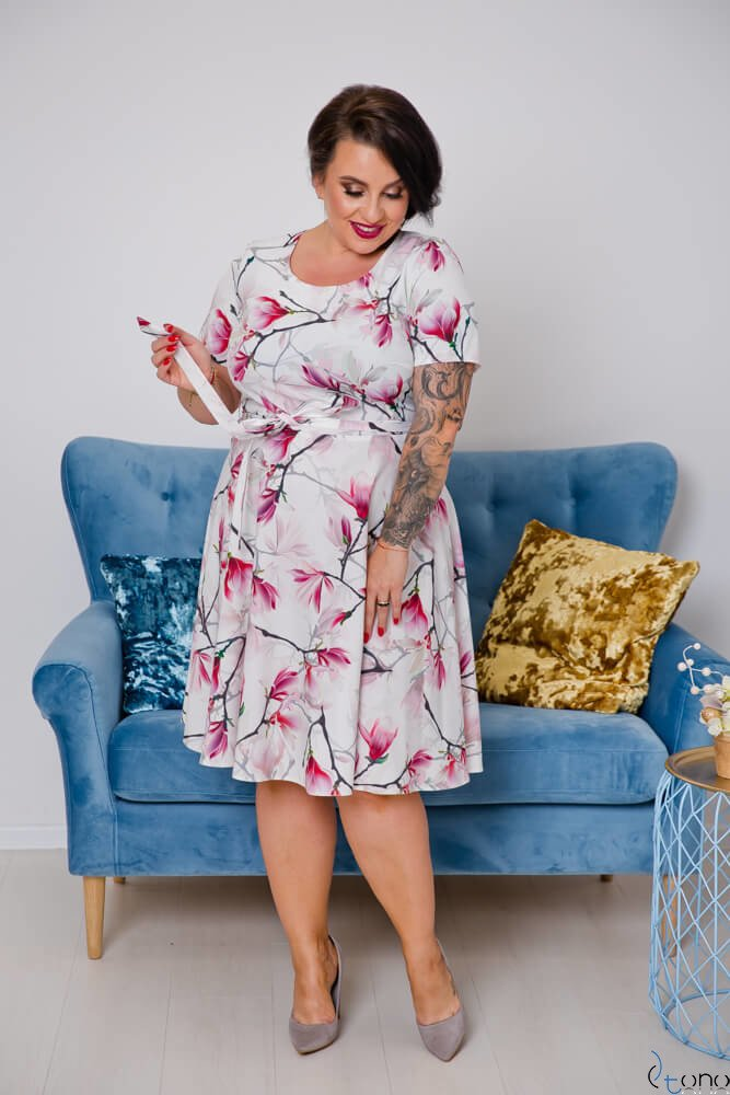 Sukienka ROSITA Plus Size Wzór 9