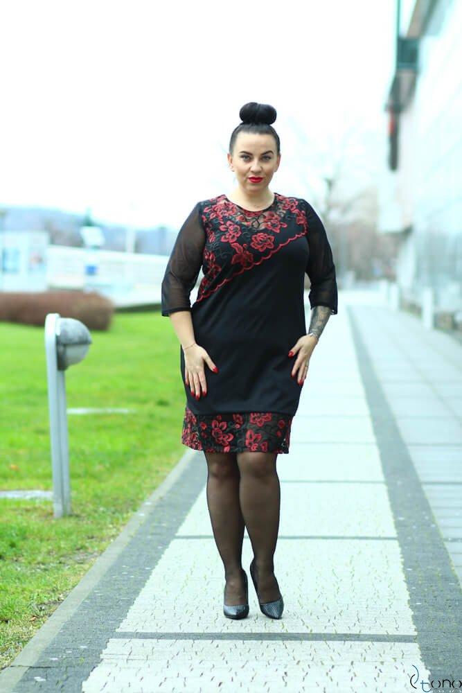 Sukienka ROZETTA Plus Size Wzór 4