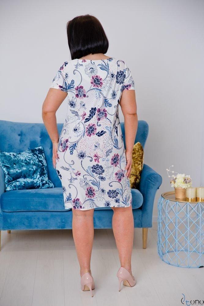 Sukienka STAMPINA Plus Size Wzór 18