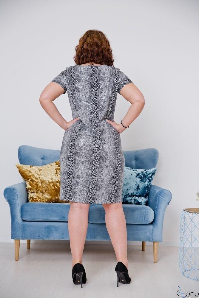 Sukienka STAMPINA Plus Size Wzór 23