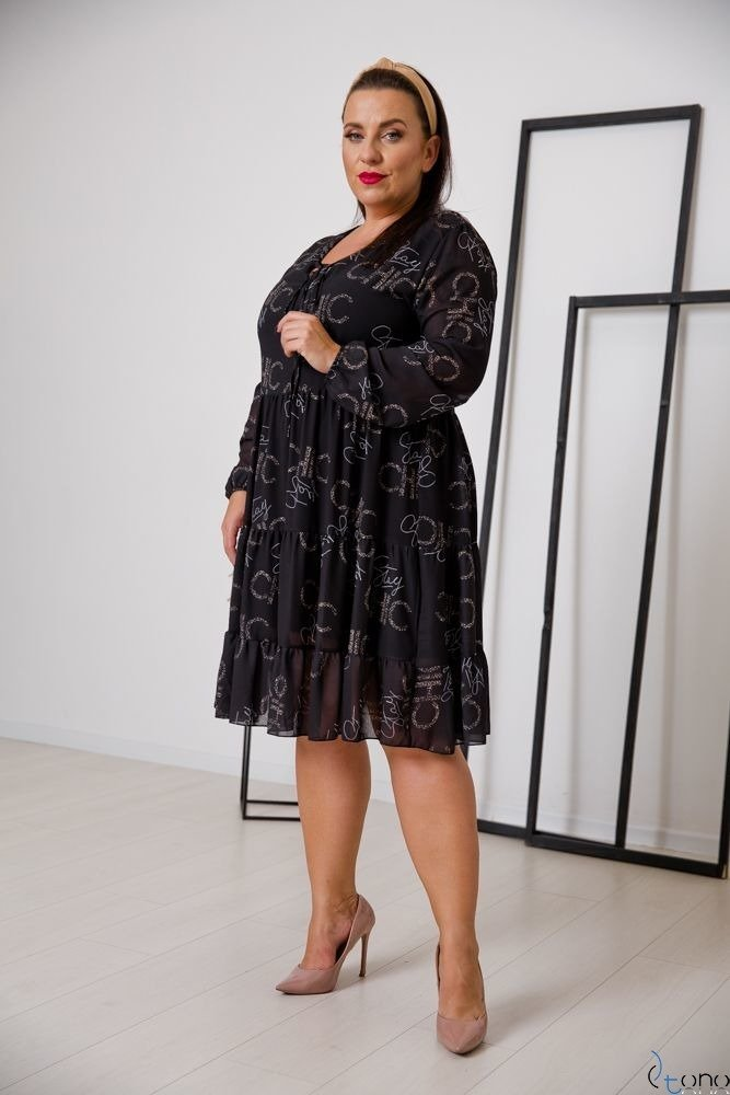 Sukienka STESSA Plus Size Wzór 8
