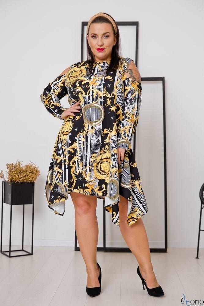 Sukienka VIRAGO Plus Size Wzór 6