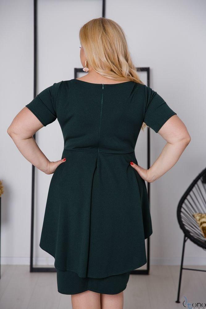 Zielona Sukienka BASKINA Plus Size