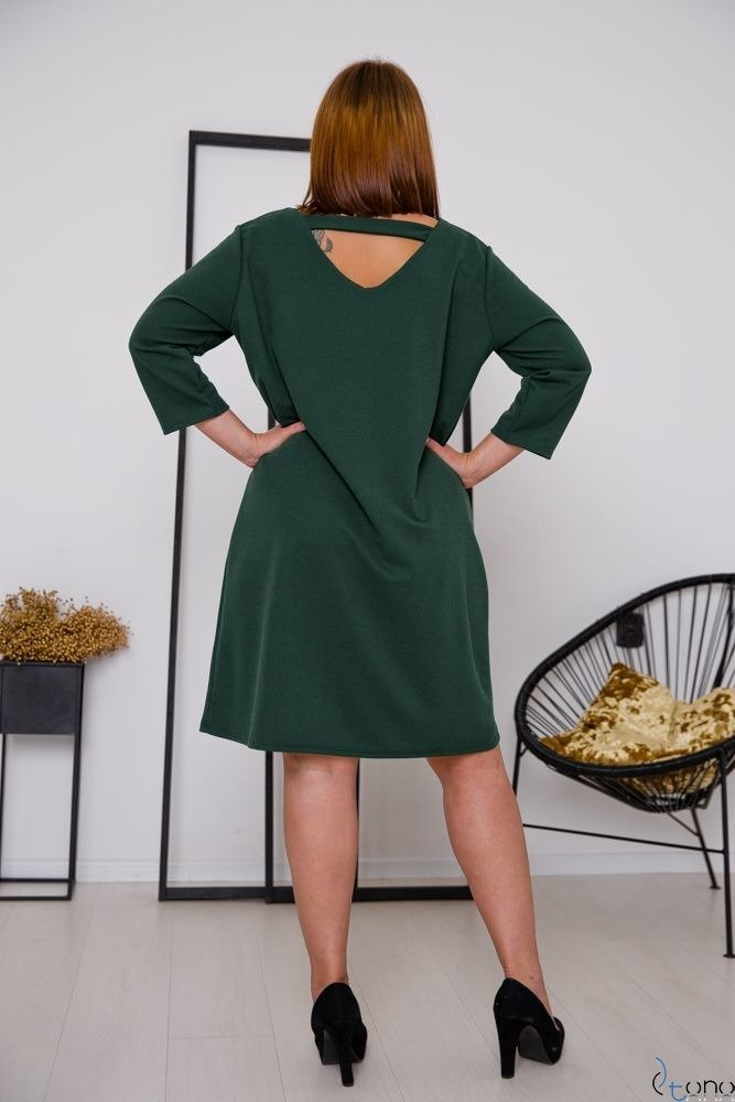 Zielona Sukienka HIERRA Plus Size