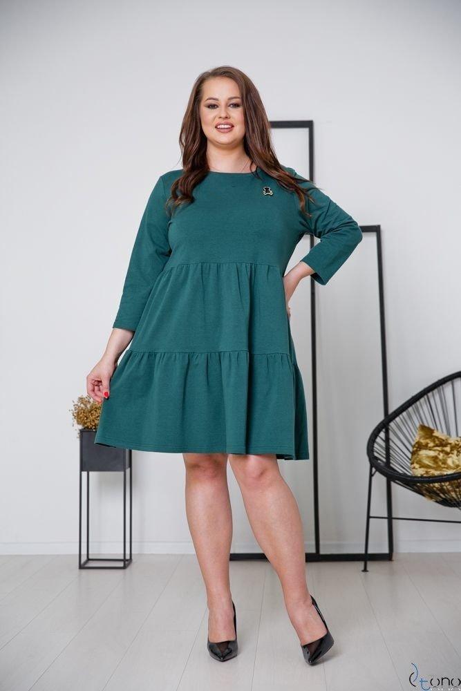 Zielona Sukienka SORRINA Plus Size