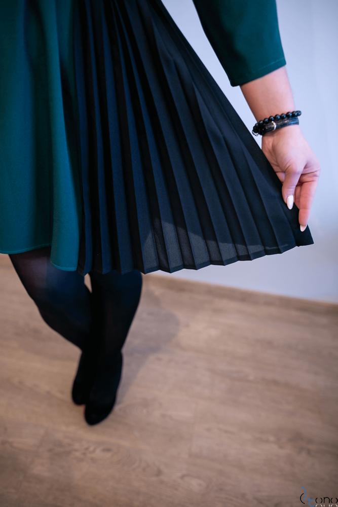 Zielona Sukienka VIPPER Plus Size