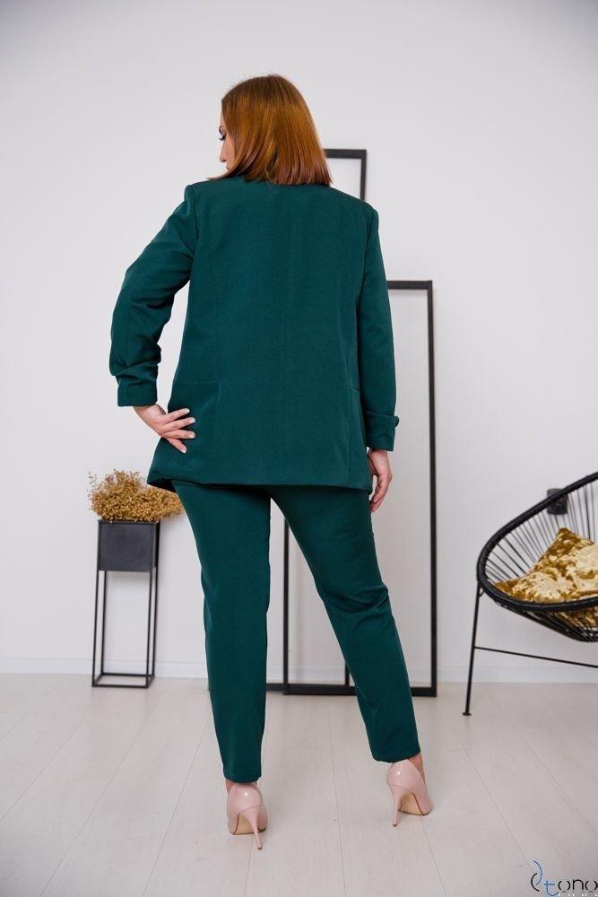 Zielony Garnitur MARLO Plus Size