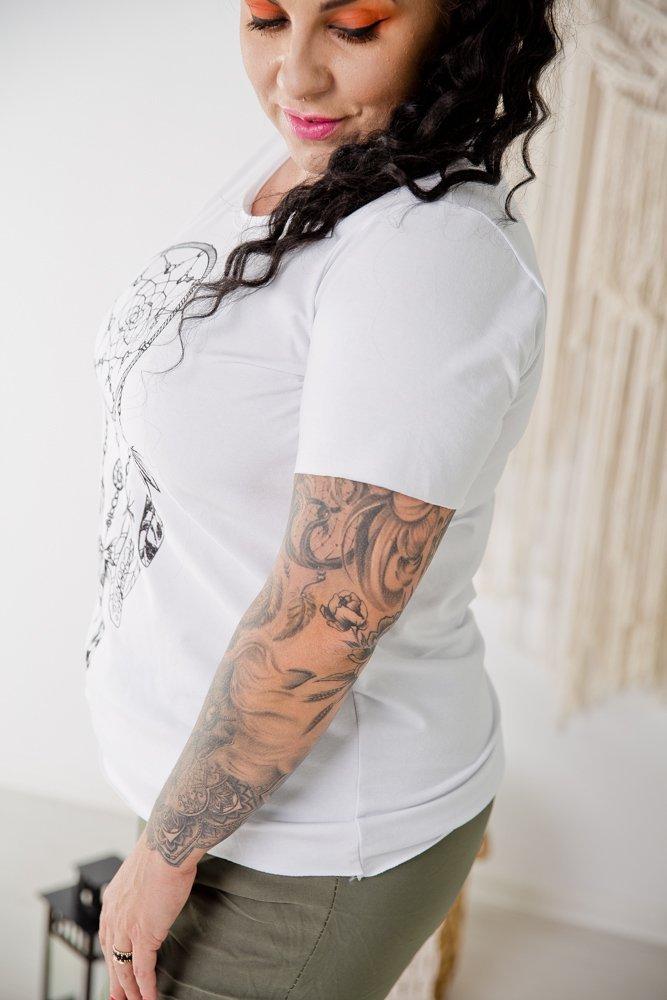 Biała Bluzka DREAM CATCHER