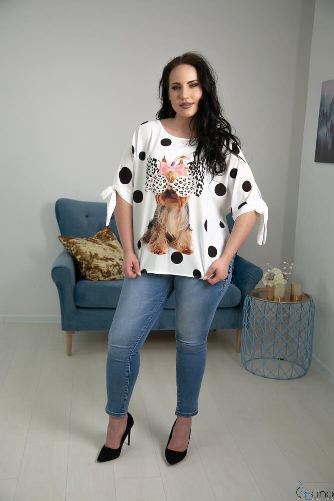 Bluzka BACCI Plus Size Wzór 6