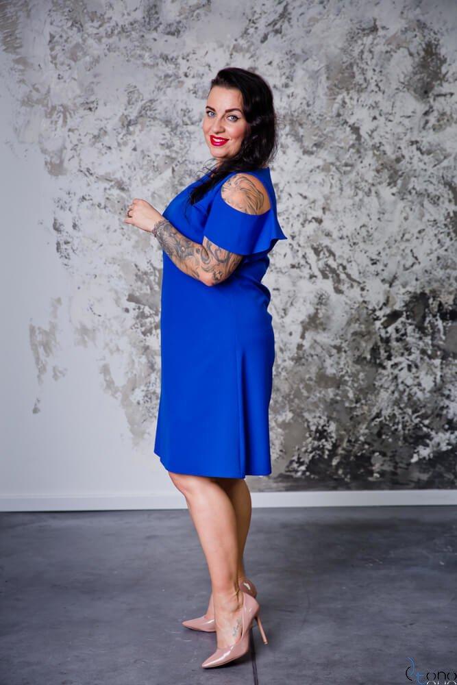 Chabrowa Sukienka BARBIE Plus Size
