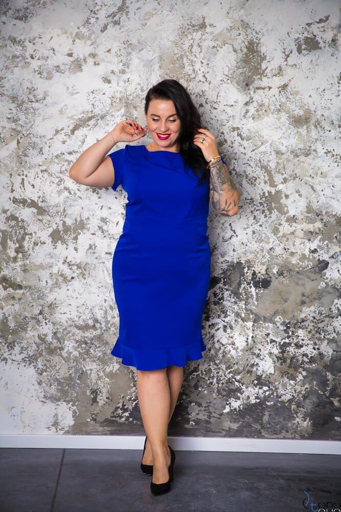 Chabrowa Sukienka PAOLA Plus Size