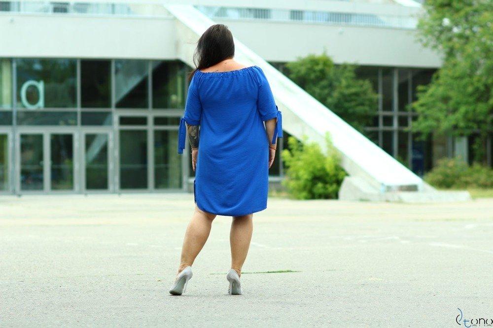 Chabrowa Sukienka VALENCIA Plus Size