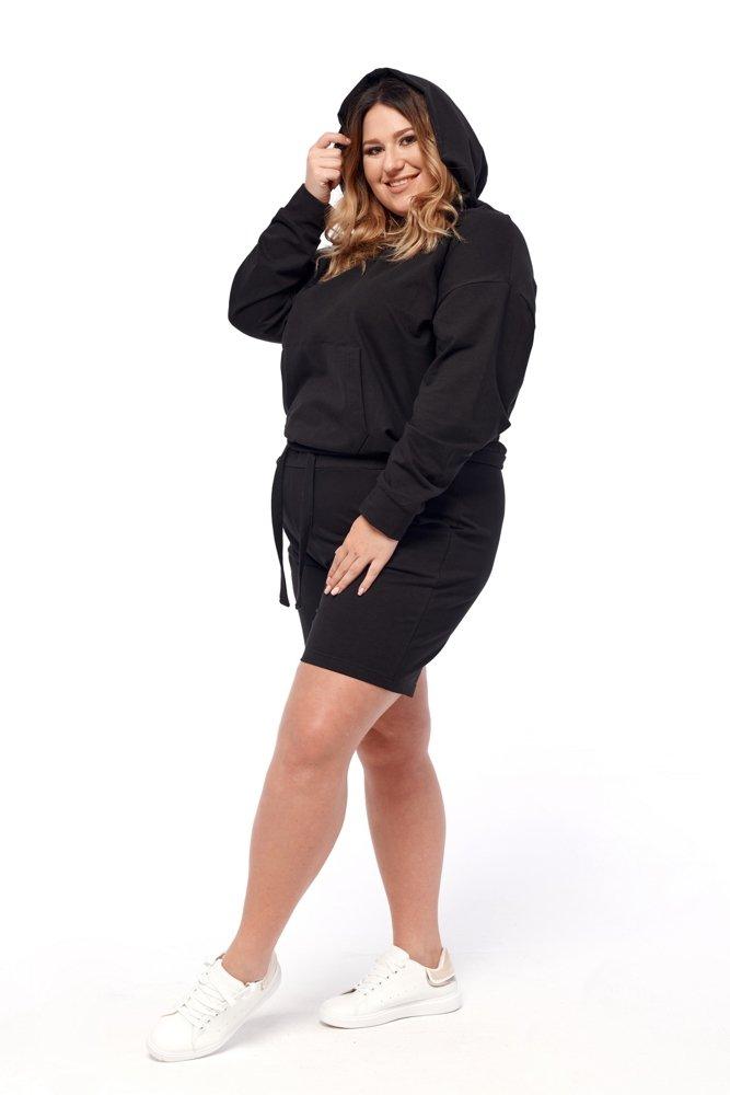 Czarny Dres BINA Plus Size