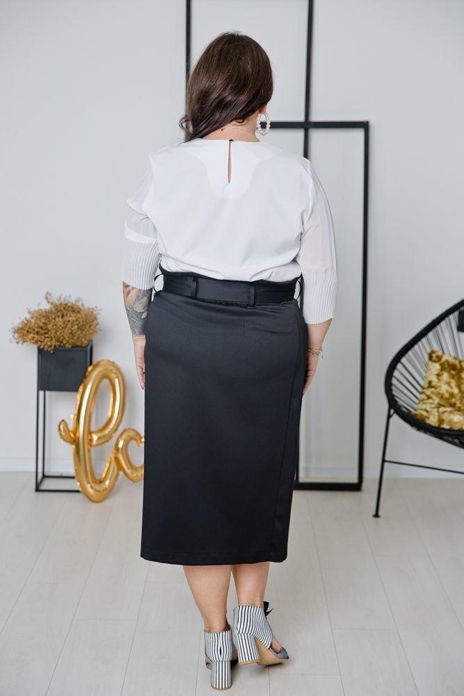 Czarny Spódnica DEZERTA Plus Size