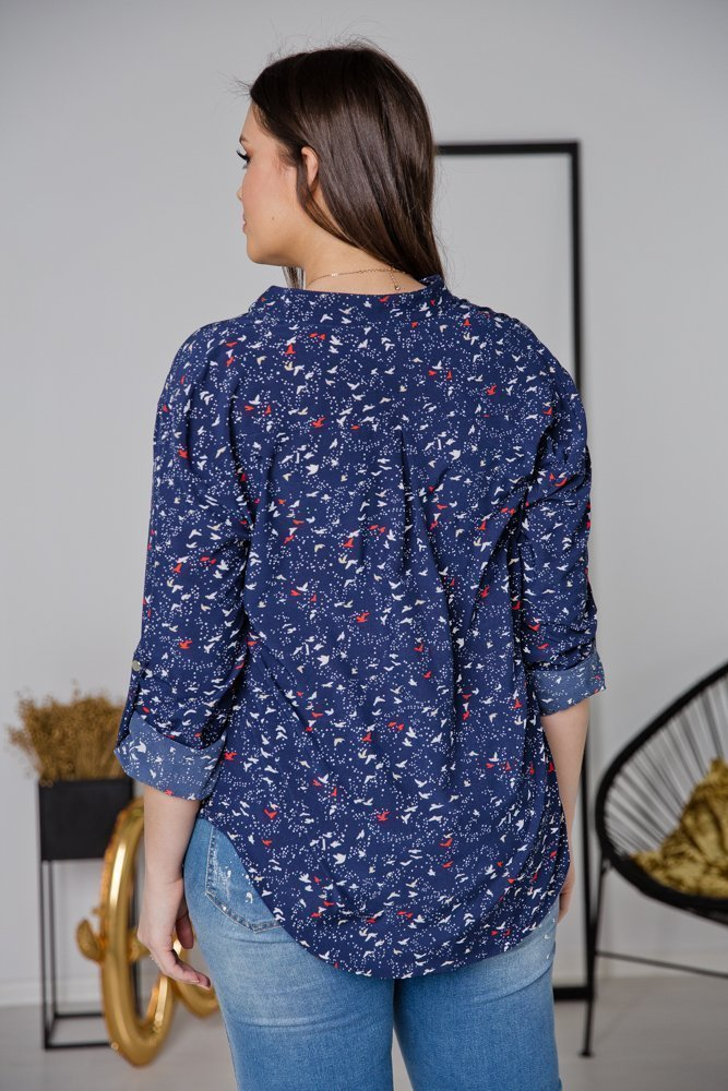 Koszula TONI Plus Size Wzór 6
