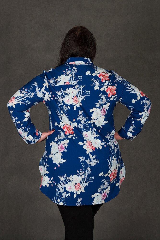 Koszula damska DAISY Rozkloszowana Plus Size