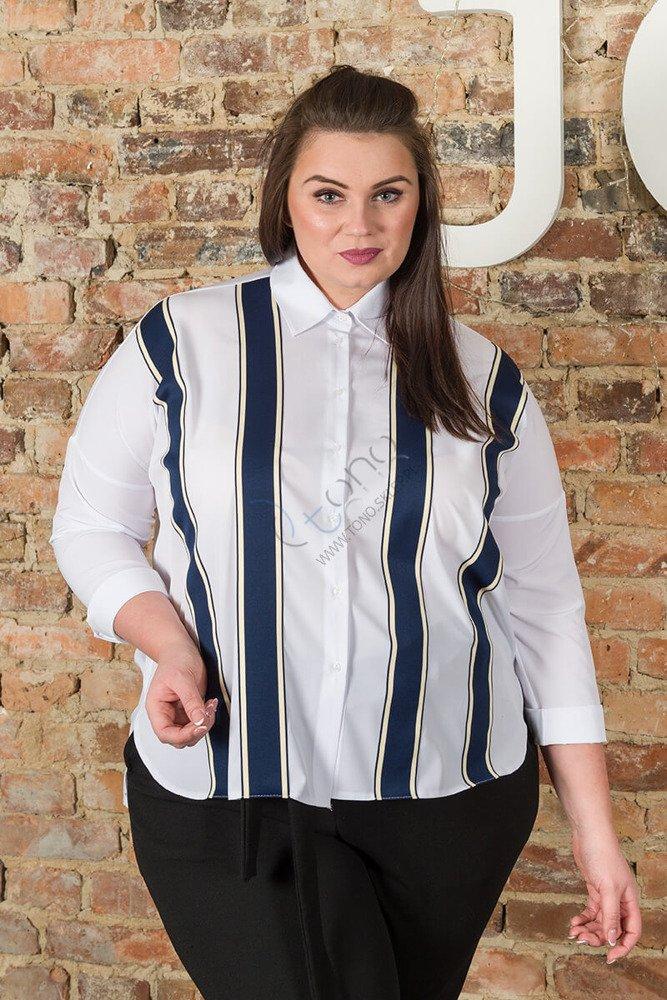Koszula damska SUBITA Designerska Oversize