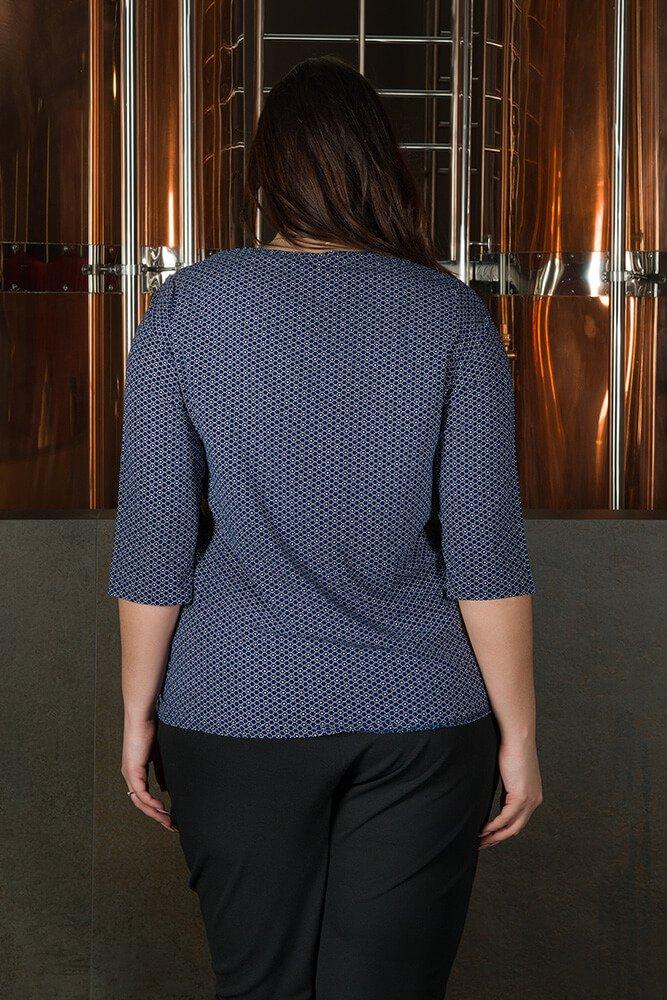Koszulowa bluzka damska ROMA duże rozmiary