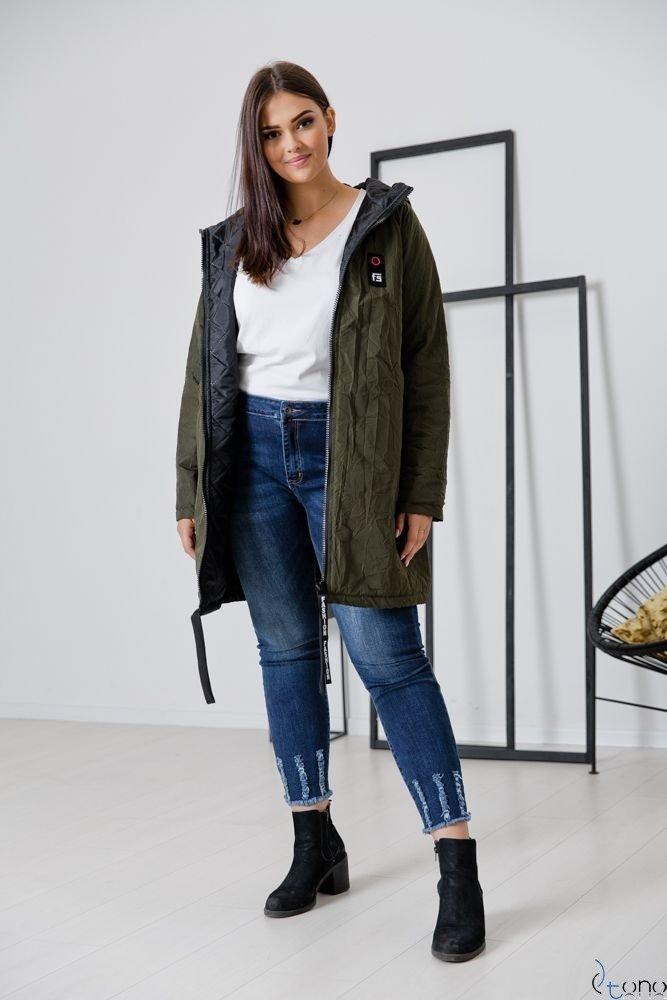 Kurtka Khaki CRESH Plus Size