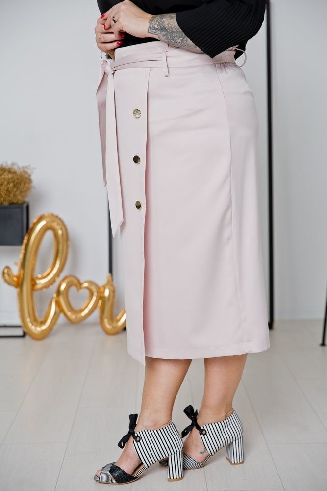 Różowa Spódnica DEZERTA Plus Size