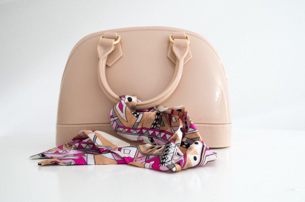 Różowa torebka damska Bianka