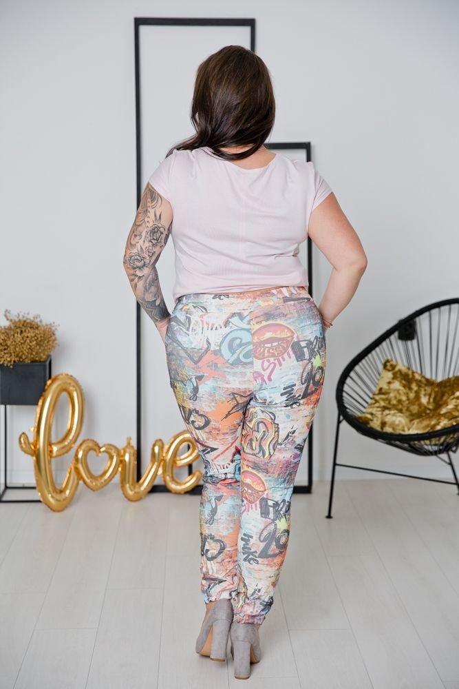 Spodnie MORRENA Plus Size Wzór 5