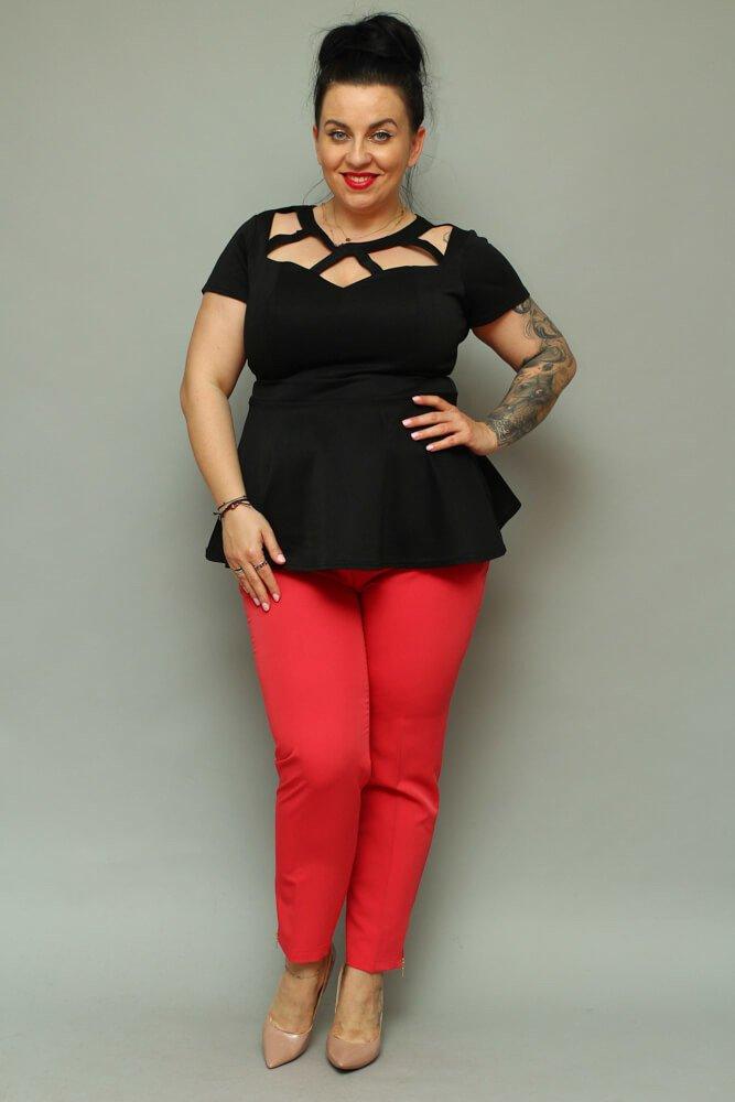 Spodnie OLGA Eleganckie Plus Size