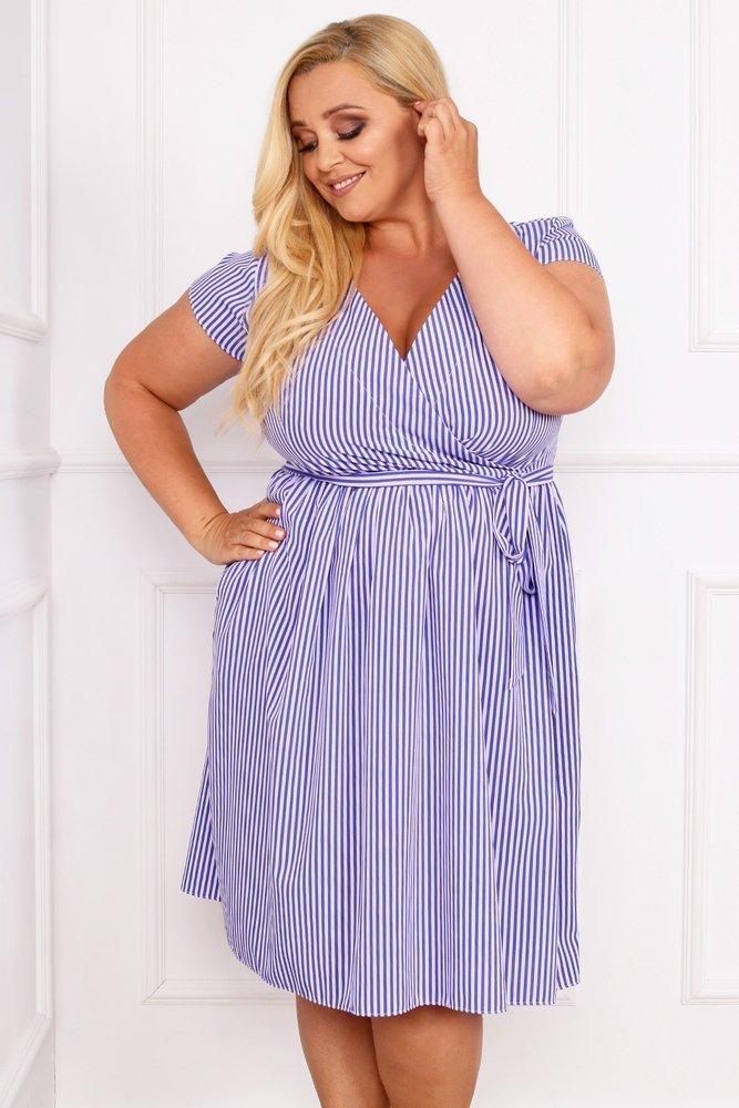 Sukienka AGOSTA Plus Size Wzór 10