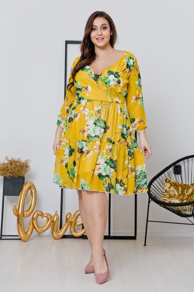 Sukienka ASPYN Plus Size Wzór 4