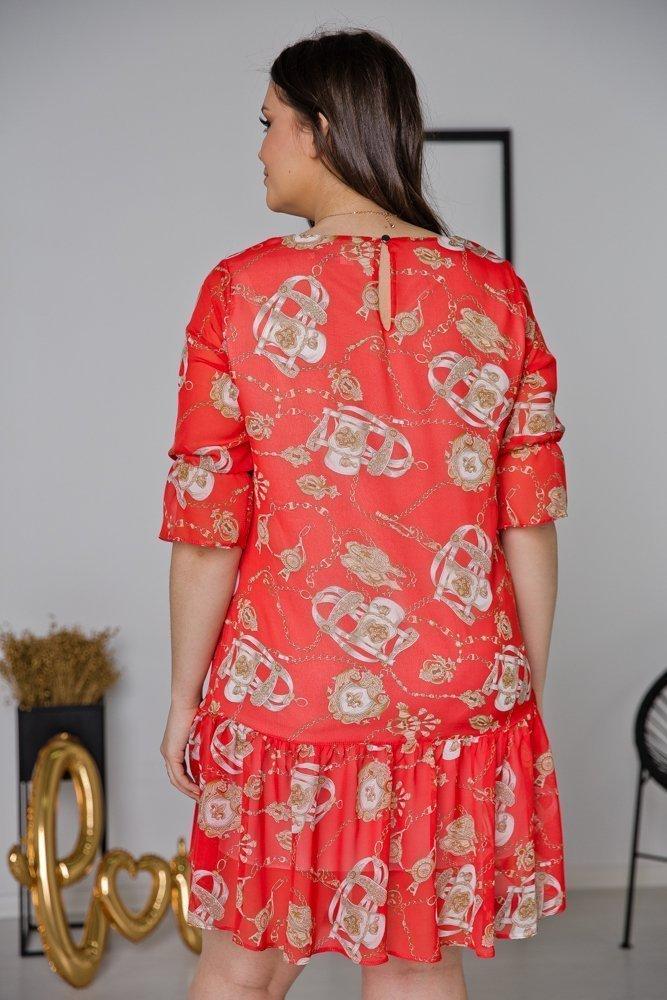 Sukienka ESTI Plus Size Wzór 21