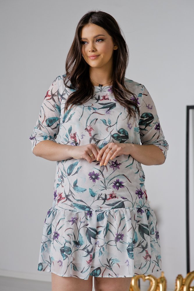 Sukienka ESTI Plus Size Wzór 24