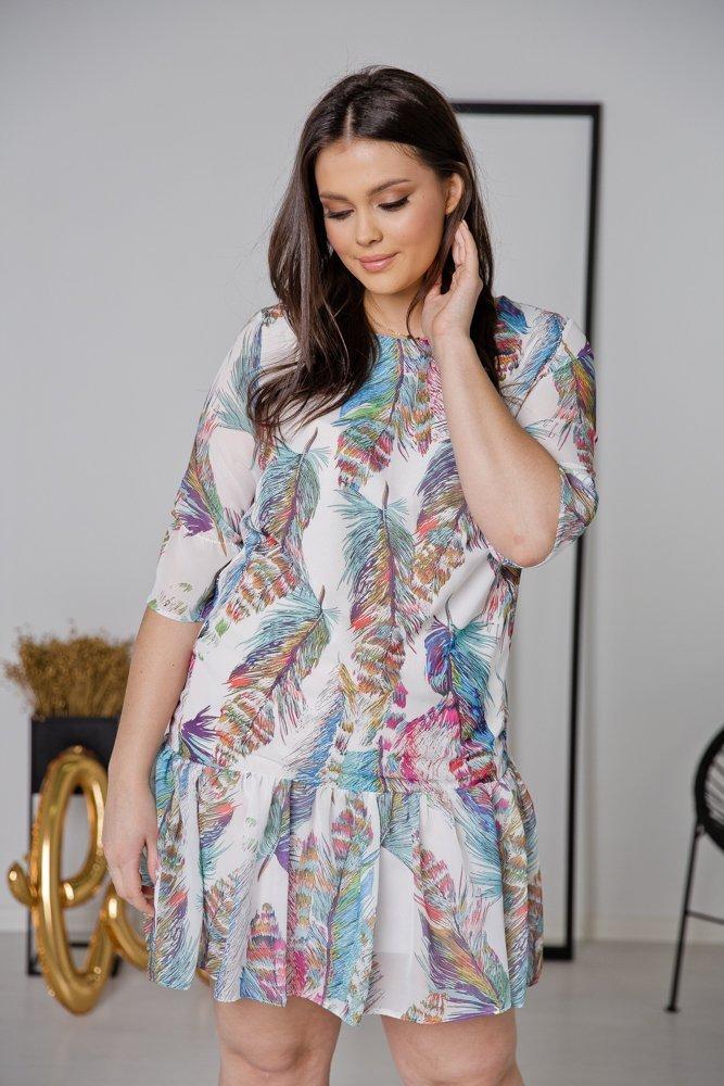 Sukienka ESTI Plus Size Wzór 26
