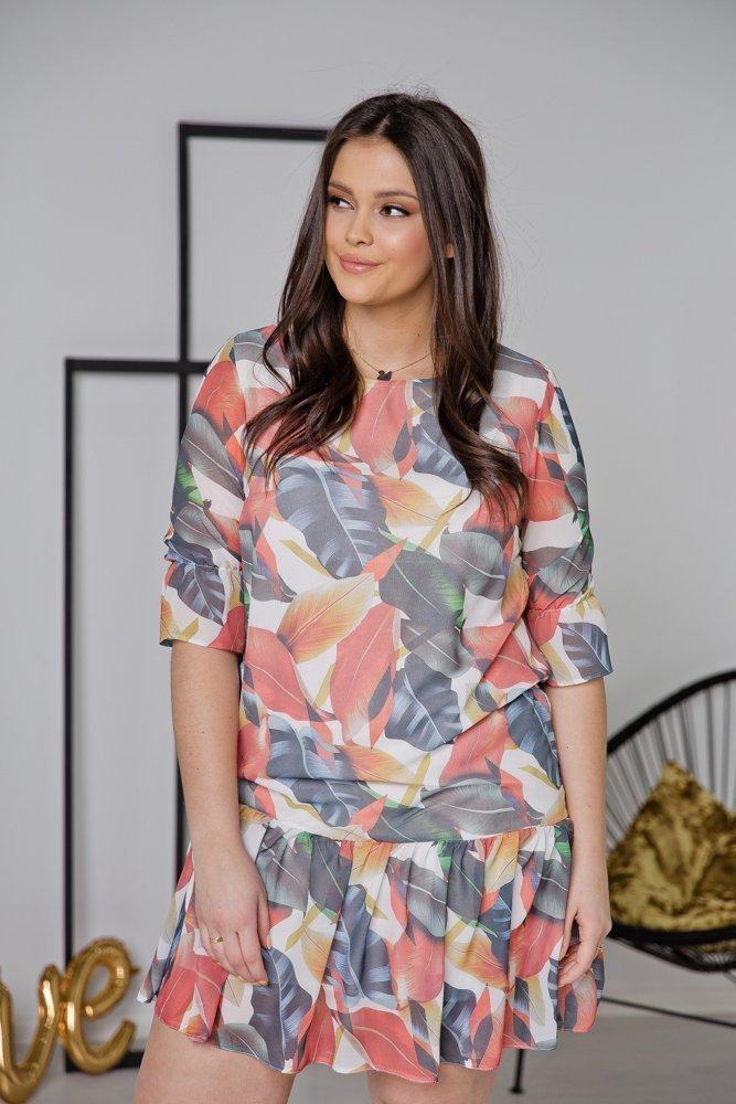 Sukienka ESTI Plus Size Wzór 27