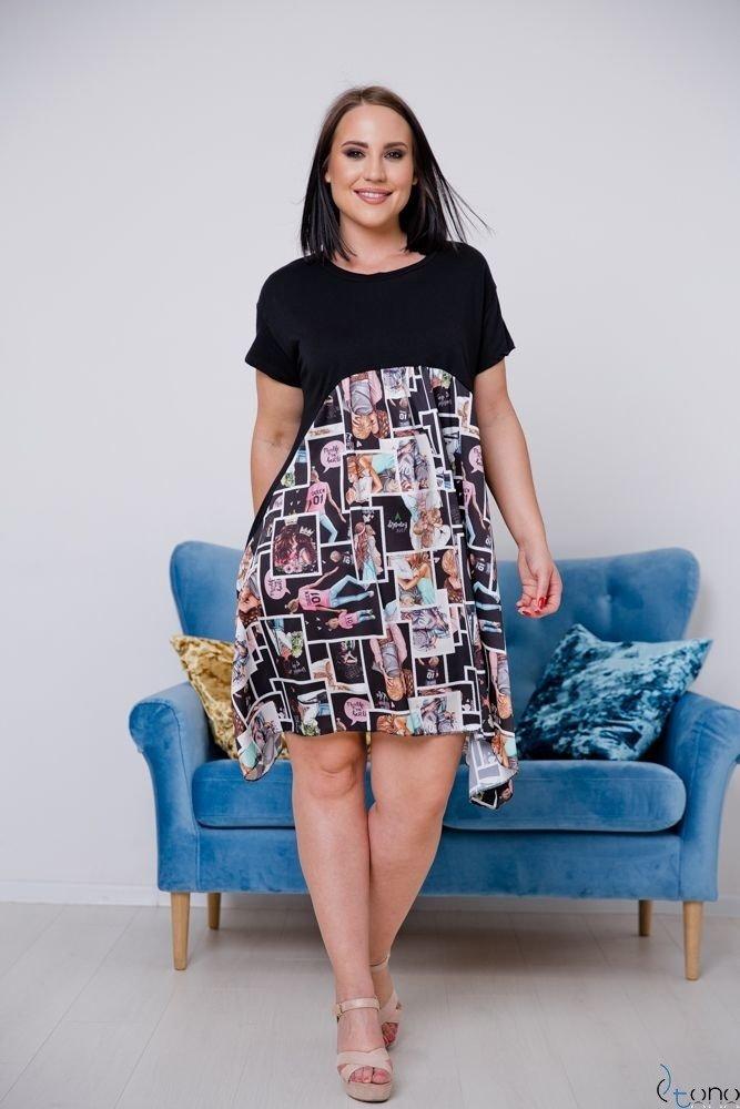 Sukienka FILANO Plus Size Wzór 3