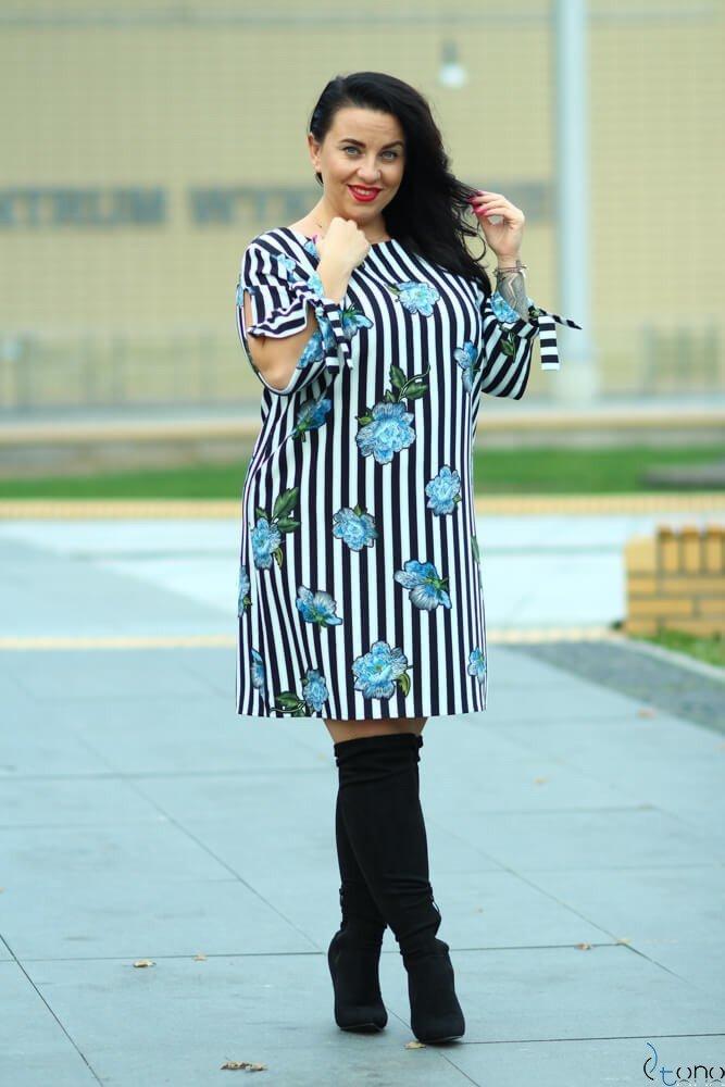 Sukienka GRACCIE Plus Size wzór 5