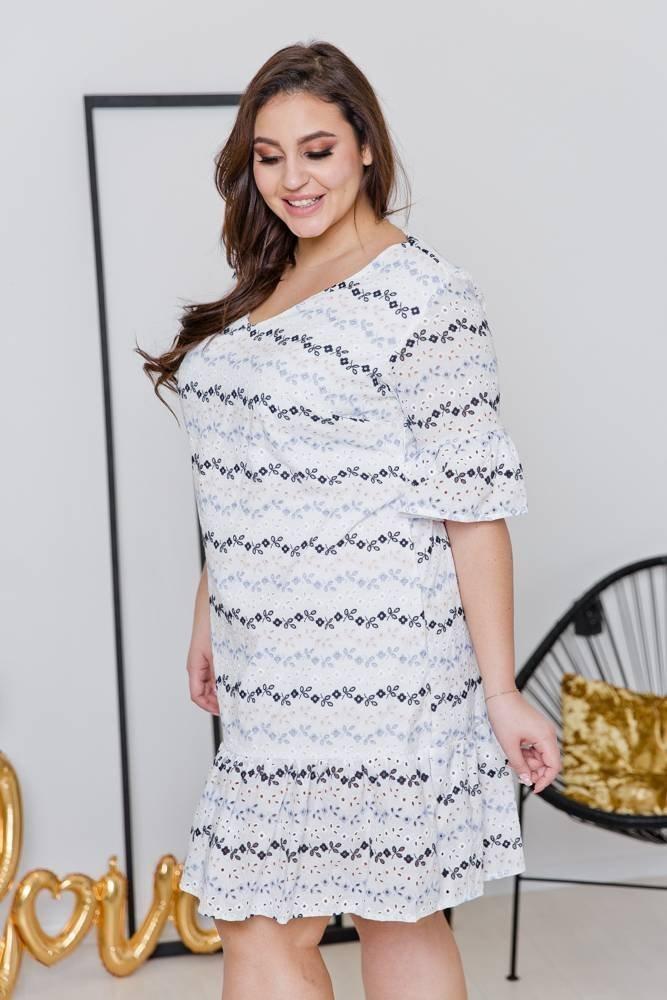 Sukienka HOLI Plus Size Wzór 1