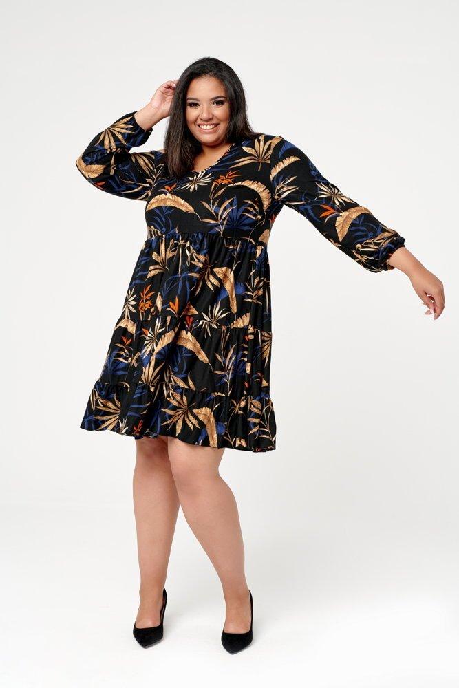 Sukienka MOLA Plus Size Wzór 1