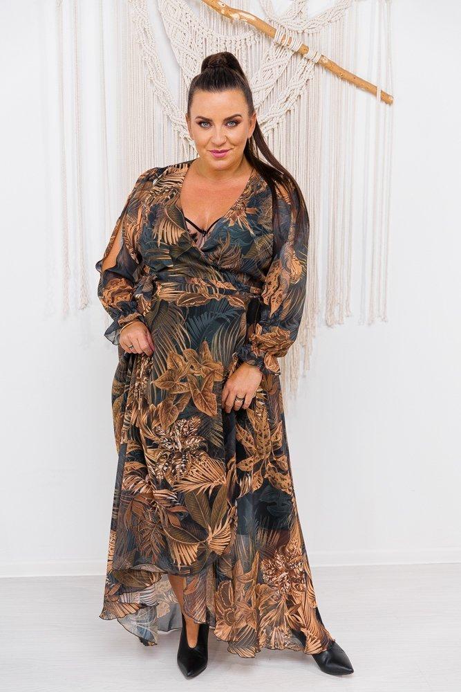 Sukienka MONAMA Plus Size