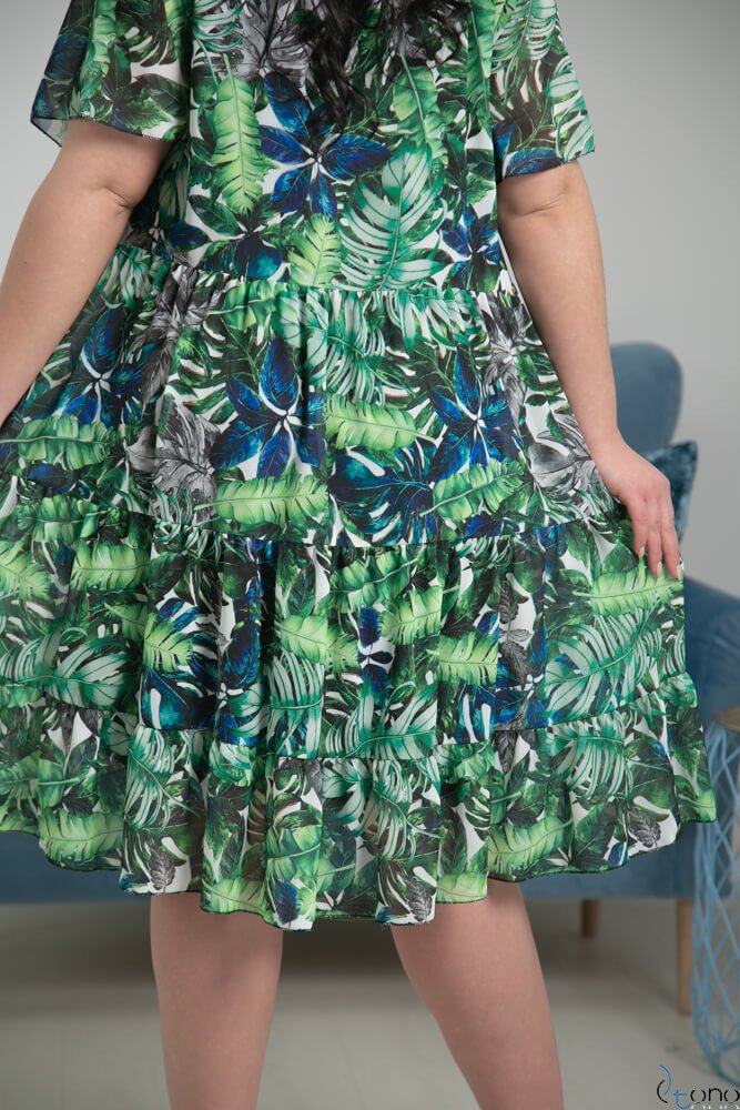Sukienka NURIA Plus Size Wzór 1