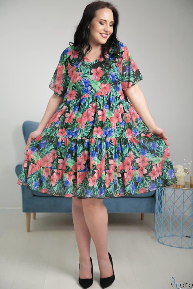 Sukienka NURIA Plus Size Wzór 2