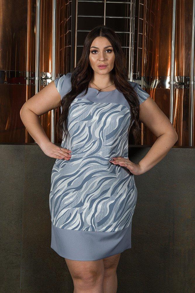 Sukienka OMBRA Wizytowa Elegancka wzór 2