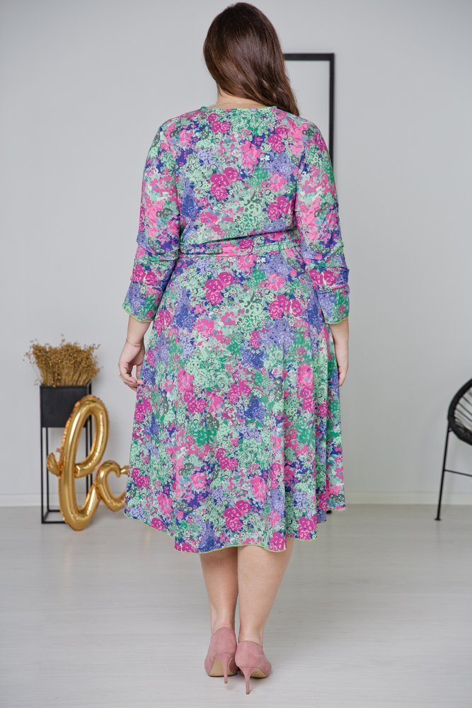 Sukienka PALOMA Plus Szie Wzór 4