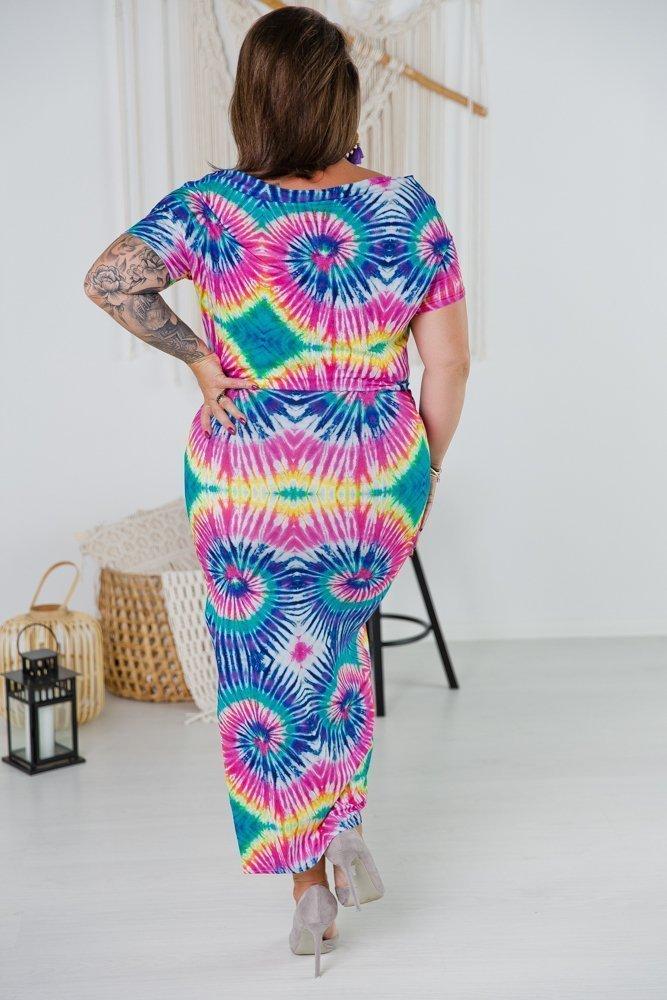 Sukienka RAMEA Plus Size Wzór 3