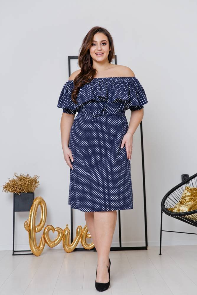 Sukienka SATIA Plus Size Wzór 5