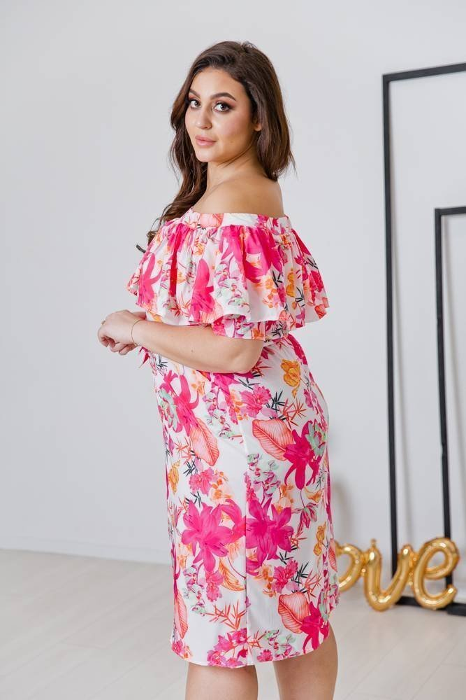 Sukienka SATIA Plus Size Wzór 6