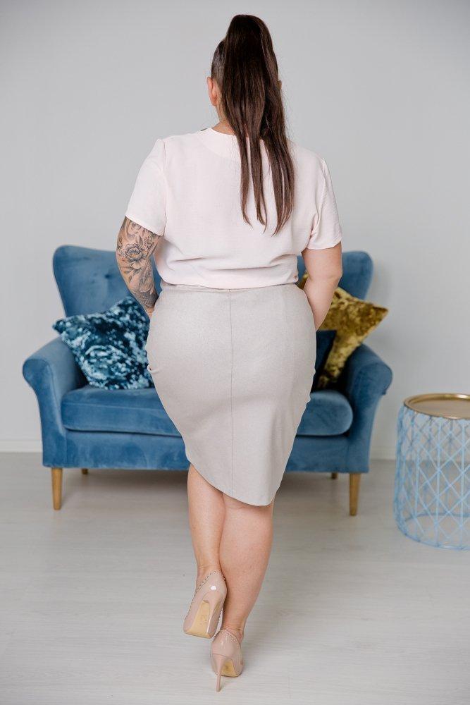 Szara Spódnica BIRA Plus Size