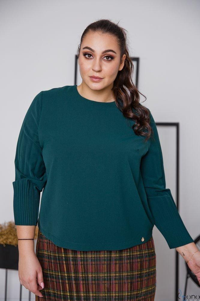 Zielona Bluzka YULIEN Plus Size