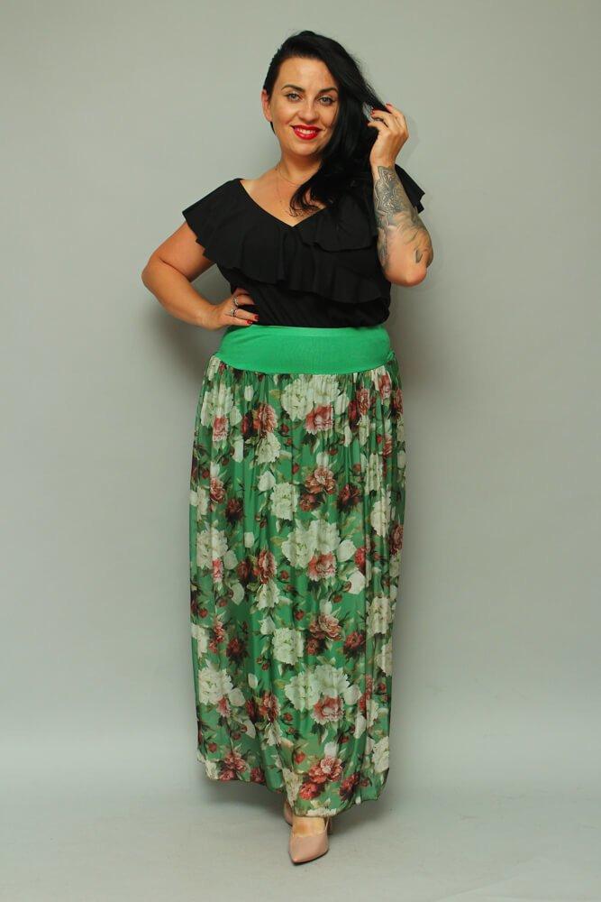 Zielona Spódnica LUPO Plus Size
